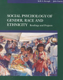 Social Psychology of Gender  Race  and Ethnicity