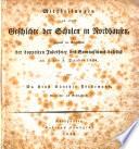 Mittheilungen zu einer geschichte der schulen in Nordhausen