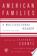 American Families A Multicultural Reader