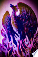 Purple Fire Phoenix Rise