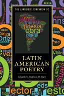 The Cambridge Companion to Latin American Poetry