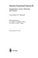 Density Functional Theory III