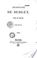 Annuaire du Budget ou Dictionnaire annuel