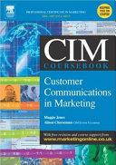 The CIM Coursebook