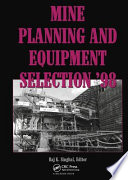 Mine Planning and Equipment Selection 1998