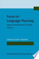 Focus on Language Planning