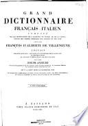Grand dictionnaire français-italien