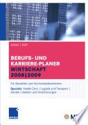 Gabler | MLP Berufs- und Karriere-Planer Wirtschaft 2008 | 2009