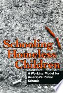 Schooling Homeless Children Effort To Make School A Good