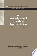 A Policy Approach to Political Representation
