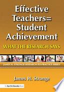 Effective Teachers Student Achievement