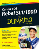 Canon EOS Rebel SL1 100D For Dummies