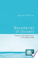 Boundaries of Dissent