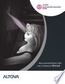 Altova Semanticworkstm 2008 User Reference Manual