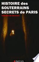 illustration du livre Histoire des souterrains secrets de Paris