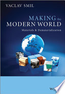 Making the Modern World by Vaclav Smil/