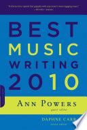 Best Music Writing 2010