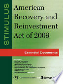 stimulus american recovery and reinvestment act of 2009