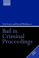 Bail in criminal proceedings