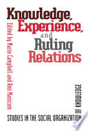 Knowledge  Experience  and Ruling