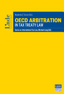 OECD Arbitration in Tax Treaty Law