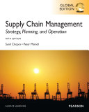 Supply Chain Management  Global Edition