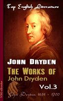 download ebook the works of john dryden vol.3 pdf epub