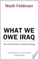 What We Owe Iraq