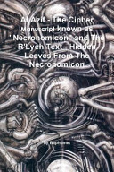download ebook al azif - the cipher manuscript known as necronomicon and the r'lyeh text - hidden leaves from the necronomicon pdf epub