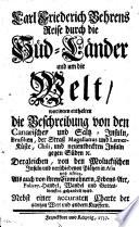 Carl Friedrich Behrens Reise durch die Süd-Länder und um die Welt