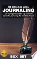 Journaling De Supergemakkelijke Journaling Als Een Professional In Vijf Minuten Boxset