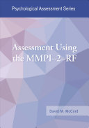 Assessment Using the MMPI 2 RF