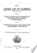 California Election Laws