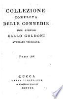 Collezione completa delle commedie del signor Carlo Goldoni ...: L'uomo prudente.- La dama prudente.- Il giuocatore.- Il buon compatriotto.- I puntigli domestici