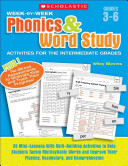 Week by week Phonics and Word Study