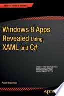 Windows 8 Apps Revealed Using Xaml And C