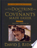 Doctrine and Covenants Made Easier Volume 1