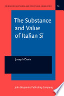 The Substance And Value Of Italian Si