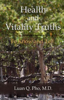 Health and Vitality Truths