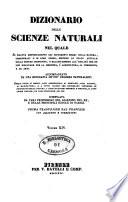 Dizionario delle scienze naturali nel quale si tratta metodicamente dei differenti esseri della natura      accompagnato da una biografia de  piu celebri naturalisti  opera utile ai medici  agli agricoltori  ai mercanti  agli