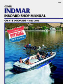 Indmar Inboard Shop Manual GM V 8 Engines 1983 2003