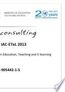 Proceedings of IAC ETeL 2013