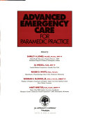 Advanced Emergency Care for Paramedic Practice
