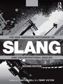 download ebook the new partridge dictionary of slang and unconventional english pdf epub