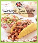 Weeknight Slow Cooker Book