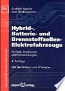 Hybrid-, Batterie- und Brennstoffzellen-Elektrofahrzeuge