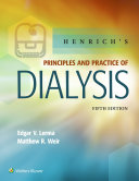 Henrich S Principles And Practice Of Dialysis book