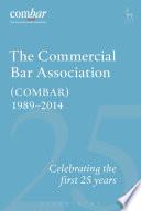 Commercial Bar Association  COMBAR  1989 2014