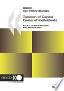 OECD Tax Policy Studies Taxation of Capital Gains of Individuals Policy Considerations and Approaches