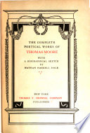 Thomas Moore s Complete Poetical Works Book PDF